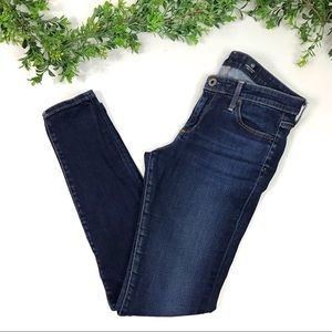 AG Adriano Goldschmied Blue Absolute Legging Jeans